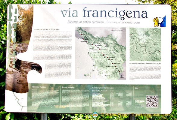 About the Via Francigena in Tuscany