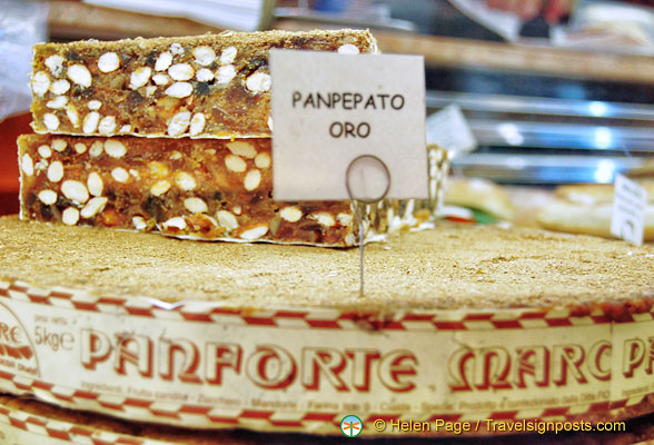 Panpepato is similar to panforte, but has pepper as an additional spice and no figs