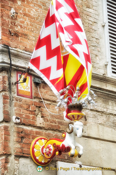 Contrada del Montone won the August 2012 Palio dell'Assunta