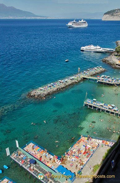 View of Sorrento harbour
