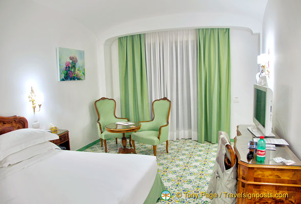 Hotel La Favorita room