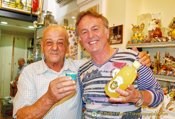 Tony with the boss of Limonoro, a really lovely man