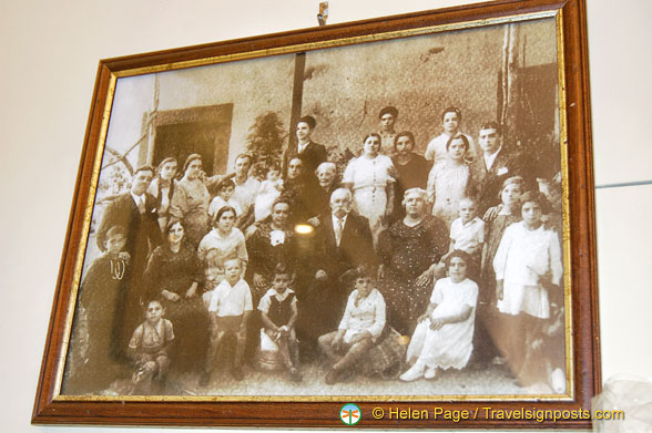 Limonoro have been making limoncello since 1905.  This is the family portrait