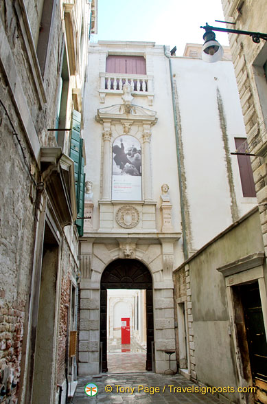 Archway to the Palazzo Grimani