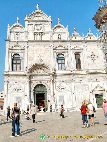 Scuola Grande di San Marco is now a public hospital