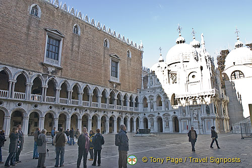 Doge's Palace on St Mark's Square