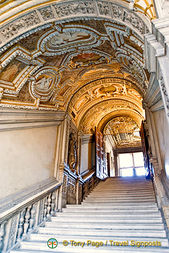 Scala d'Oro or the Golden Staircase
