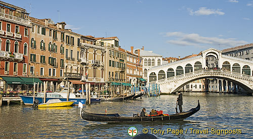 Grand Canal and the Rialto Bridge