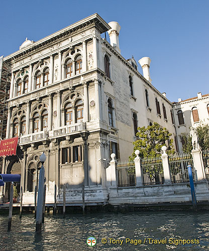 Palazzo Vendramin Calergi now the Casinò di Venezia