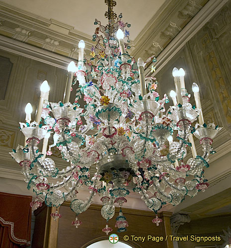 Beautiful Murano glass chandelier, one of my favourites