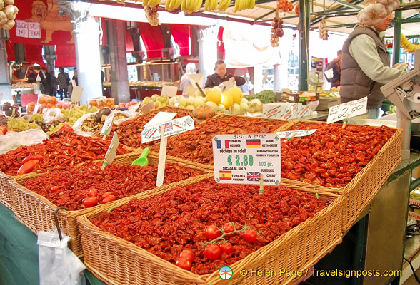Plenty of sundried tomatoes