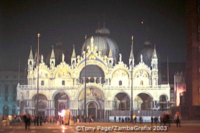 Basilica San Marco by night[Venice - Italy]