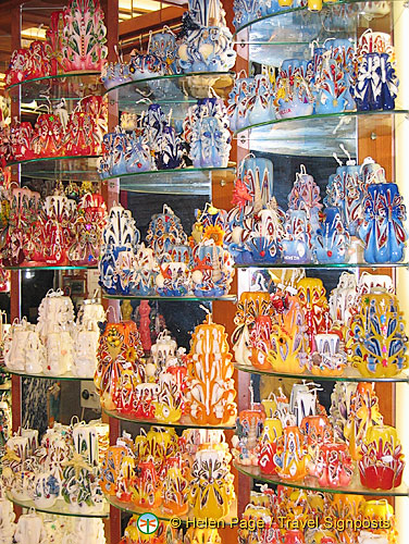 A candle shop in San Polo