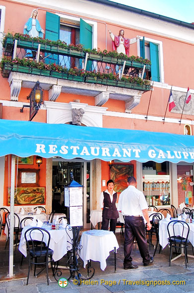 Ristorante Galuppi - Be careful to check prices and order from the menu