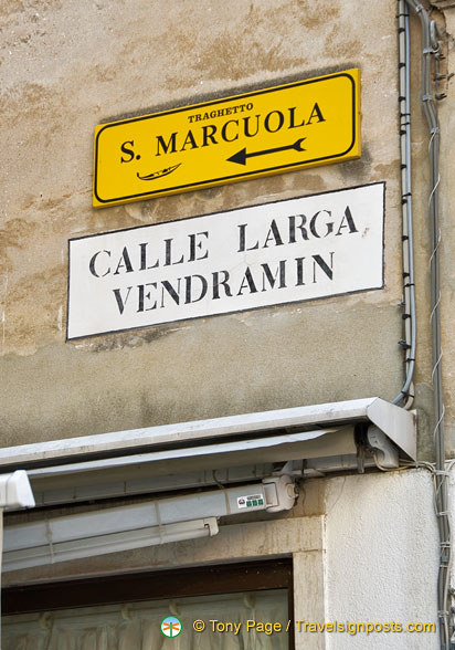 Calle Larga Vendramin