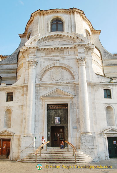 Full name of this church is Chiesa dei Santi Geremia e Lucia