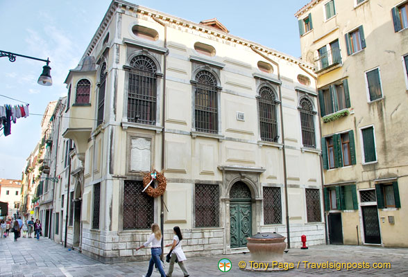 Jewish Ghetto Synagogue in Venice