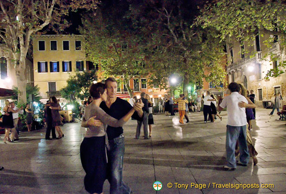 Tango lessons are available from Tango Action