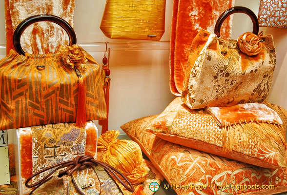 Beautiful bags and cushions