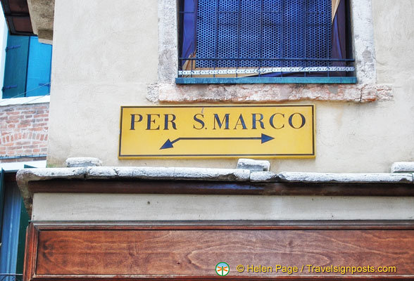 Direction to San Marco