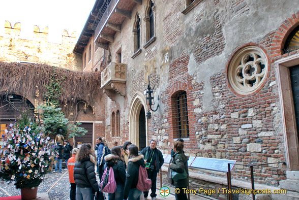 Courtyard of Juliet's House