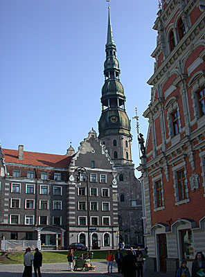 Petera Baznica (St Peter's Church), Riga