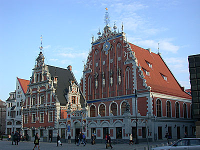 Blackhead's House, Riga, Latvia