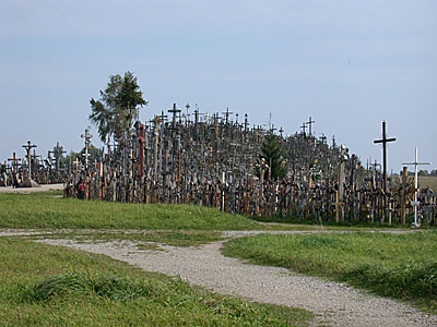 It is believed that the tradition of placing crosses began in the 14th century