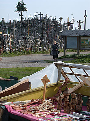 Votive 'Hill of Crosses' at Siauliaii