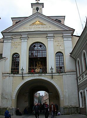 Gates of Dawn, Vilnius, one of Europe's leading pilgrimage destinations
