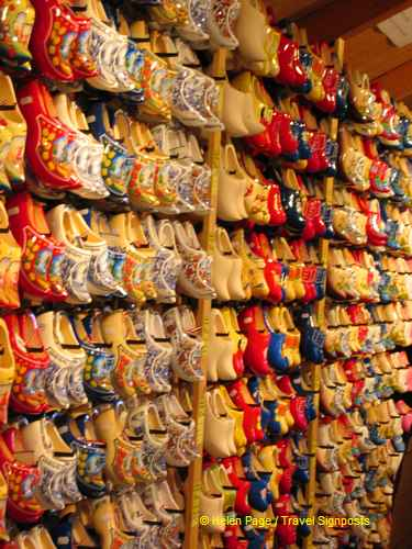 The famous Dutch wooden clogs