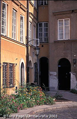 The world's narrowest house, Old Town, Warsaw