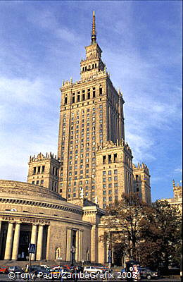Palace of Culture, Warsaw