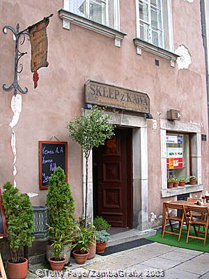 Coffee House, Old Town, Warsaw