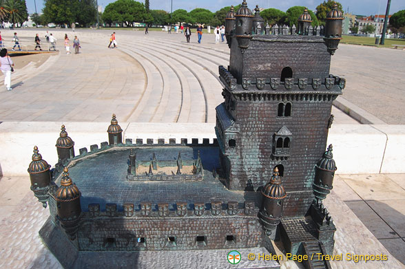 Model of the Belem Tower