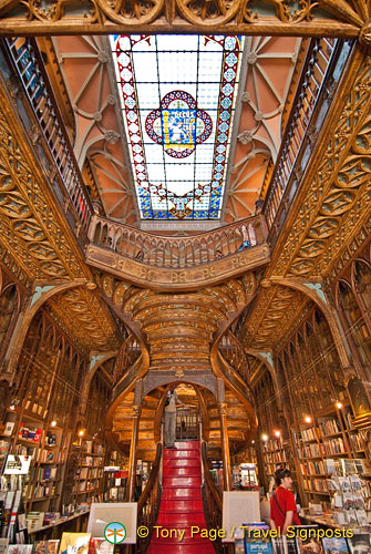 Lello bookshop, Oporto