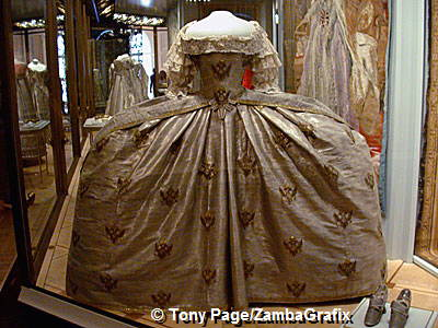 Catherine the Great's Coronation Dress, State Armoury