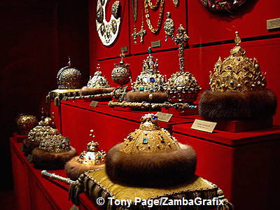 Crown of Monomakh used at royal coronations from the 14th century to 1682
