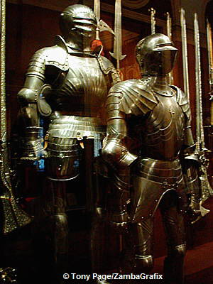 Arms and armour made in the the Kremlin workshop