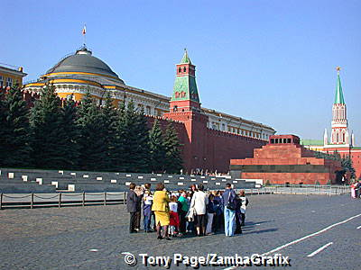 The Kremlin and Tomb of Lenin, Red Square