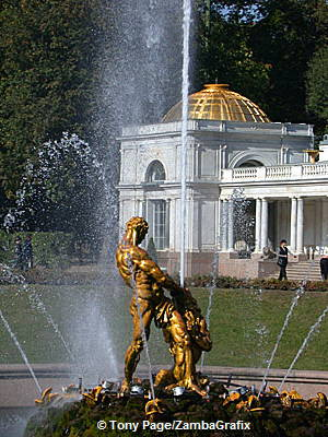Petrodvorets, The summer residence of Peter the Great