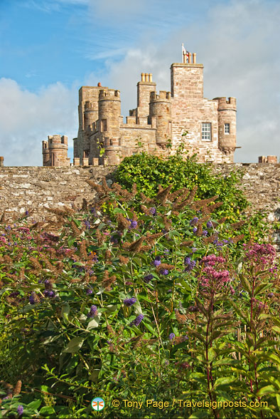 View of Castle of Mey from the gardens
