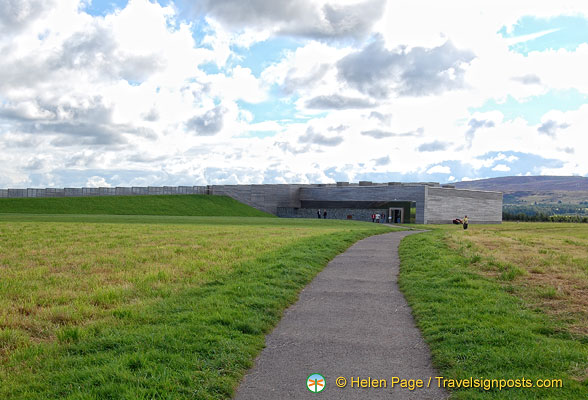 Culloden Battlefield path