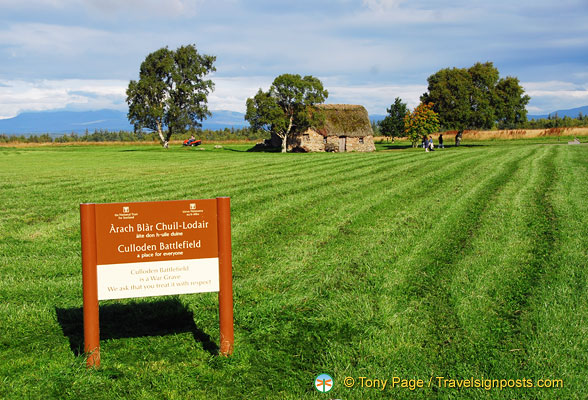 The Culloden Battlefield is a War Grave