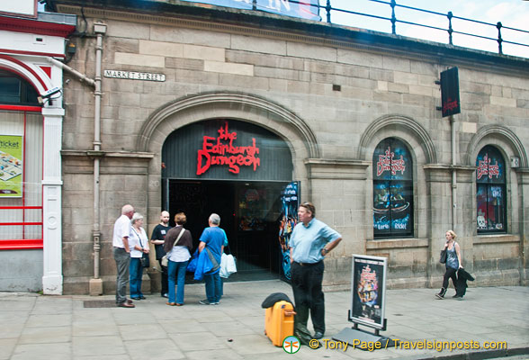 The Edinburgh Dungeon on Market Street