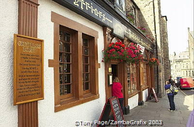 The Greyfriars Pub, a good spot for a lunch break [Greyfriars Kirk - Edinburgh - Scotland]