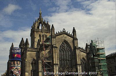 St Giles' Cathedral on the Royal Mile [Edinburgh - Scotland]