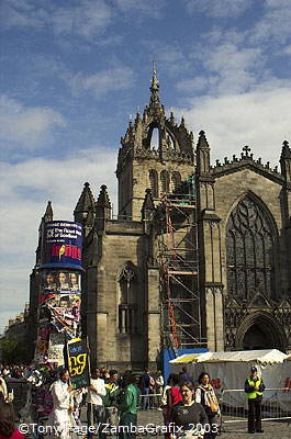 St Giles is the High Kirk of Edinburgh and is regarded as the mother church of Presbyterianism. It also contains the Chapel of t