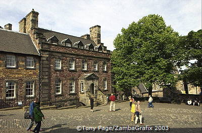 The Governor's House in Edinburgh Castle