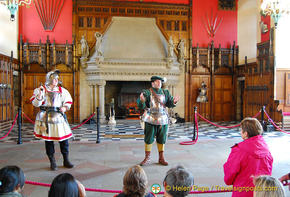 A play in the Great Hall
